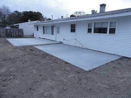 patio concrete slabs. Slab-foundation-and-patio-addition Patio Concrete Slabs O