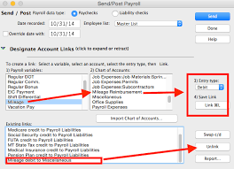 Aatrix Payroll Liability Expense Account Changes In