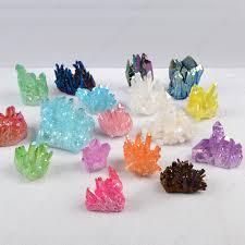 Healing Großhandel Kristallen Geist Quarz,Aura Titanium Kristall Cluster -  Buy Titan Aura Cluster,Aura Quarz Cluster,Aqua Aura Cluster Product on  Alibaba.com