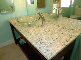 diy recycled glass countertops misc crushed glass contemporary bathroom diy recycled glass concrete countertops