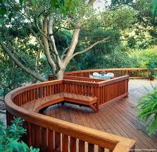 Wood Deck 100s Of Deck Railing Ideas And Designs 4x6 Beam Railing