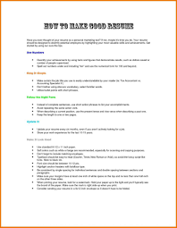 How To Make A Perfect Resume For Job Make A Perfect Resume How To Good For Job Application Cv Example 2