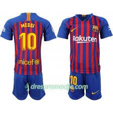 Kratkih Messi Dres 10 Barcelona 2018 Dječji Fc Domaći Rukava 19
