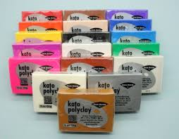 Kato Polyclay Pack 56g Blocks