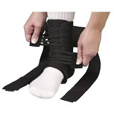Details About Med Spec Aso Speed Lacer Ankle Stabilizer Ankle Brace Black All Sizes 22361x