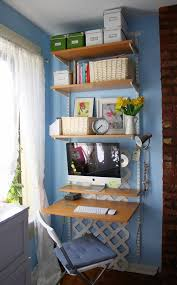 small space home office. Space Management Ideas In Small Apartment, Saving Tips, Storage Solutions Home Office