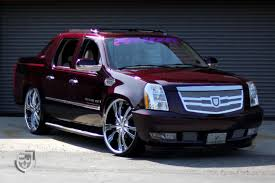 Cadillac Escalade EXT Luxury Pickup Truck Restyled by Lexani — CARiD ...