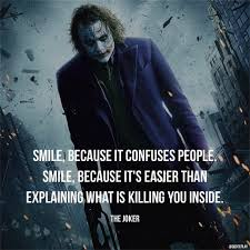 Smile Because It Confuses People Smile Because Its Easier Than
