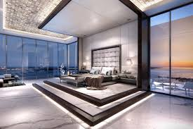 luxury master bedrooms. under construction in miami is echo brickell, a 60-story luxury condo development. master bedrooms w