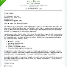 Example Of Cover Letter For Internship With No Experience Cover