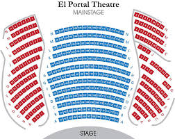 El Portal Theater Seating Chart Seating Chart