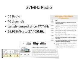 Australian Tv Frequencies Chart Where Things Like Tv And Radio Sit Within It Ppt Download
