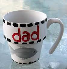 Paint a Coffee Mug for Dad