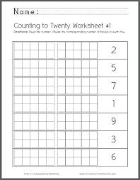 Counting 1 To Numbers In 30 Worksheets Kindergarten – fyndapp.co