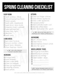 Spring Cleaning Must Haves And Printable Checklist Live