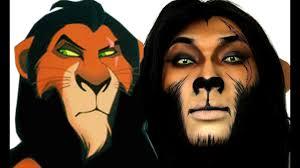 scar lion king makeup tutorial theprinceofvanity