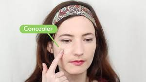 you can follow up with concealer 5