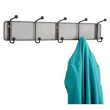 Safco Coat Rack Onyx™ Mesh Wall Rack 100 Hook Qty 100 Safco Products 80
