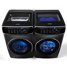 black washer and dryer. FlexWash Washer \u0026 7.5 Cu. Ft. FlexDry Black And Dryer I