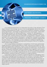 software engineering personal statement   engineering personal    software engineering personal statement