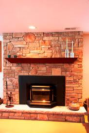 stone fireplace with beautiful mantel decorating ideas plain living room decorating idea with natural stone