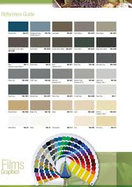 3m Translucent Vinyl Color Chart Pdf 3m Commercial Graphics Colour Card Reference Guide