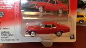Johnny Lightning Classic Gold '69 Chevy Nova SS - YouTube
