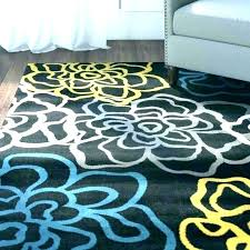 grey yellow and white area rug gray navy blue rugs teal