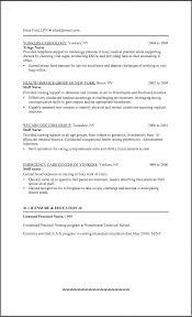 New Grad Rn Resume Examples Sample For Lpn Elegant Nur Sevte