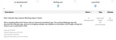 Office Calender Teams Gets New Calendar App Office 365 For It Pros