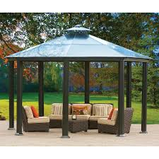 Aluminum And Steel Hardtop Gazebo My Back Yard In The Future