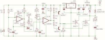 dc motor speed controller pwm % overcurrent protection you