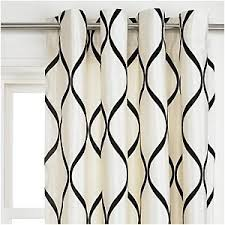 Interesting Black And White Curtains Room Blinds Throughout Design Ideas