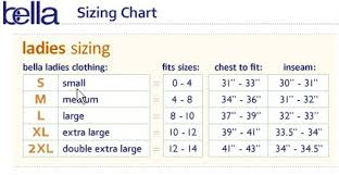 Bella T Shirt Size Chart The Angry Youk T Shirt Surviving Grady