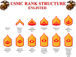33 Specific Marine Corps Ranks Structure