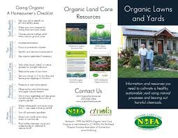 Lawn Care Brochure Books Other Resources Nofa Organic Land Care