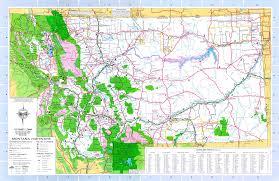 montana maps including outline and topographical maps  worldatlascom