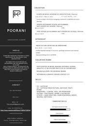 Architecture Intern Resumes Architecture Student Resume By Pooranik99 Issuu