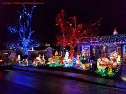 Bay Fm Christmas Lights Map Best Christmas Lights And Holiday Displays In Roseville