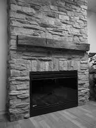 This Existing Stone Fireplace Was In Need Of Repairs And A Gas The