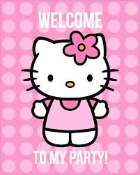 Printable Hello Kitty Invitations Download Them Or Print