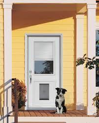 custom doors with doggie door | JELD-WEN® steel and fiberglass doors ...