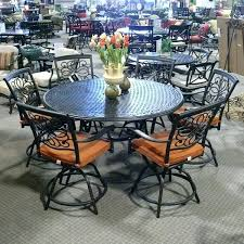 outdoor dining sets for 10 traditional wrought iron patio dining set with seating