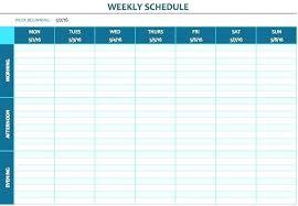 7 Team League Schedule Template Baseball Format