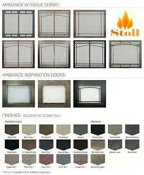 gas fireplace accessories glowing embers get the best fireplace doors for your new gas fireplace by