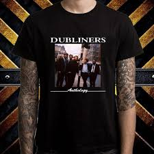 The Dubliners Anthology Album Cover Mens Black T Shirt Size S M L Xl 2xl 3xl Funniest T Shirt Comical T Shirts From Tidetshirt 13 19 Dhgate Com