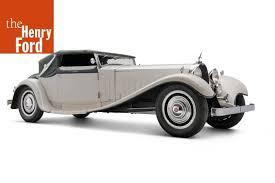 Los bugatti tipo 41 royale eran coches fuera de lo común, como mostraba la cilindrada exagerada del primer prototipo. 1931 Bugatti Type 41 Royale Convertible The Henry Ford