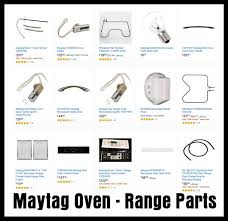 maytag oven parts