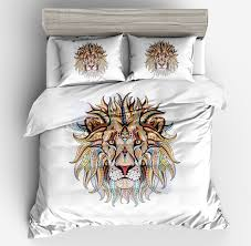 tiger bedding set 3d modern white bedding sets double king hotel bohemian bedding bed duvet
