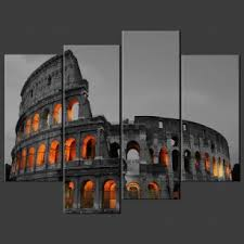 coliseum rome canvas print wall art on italian wall art prints with canvas print pictures high quality handmade free next day delivery
